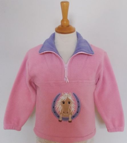 British Country Collection Horseshoe Pony Fleece